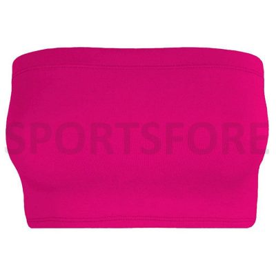 New Ladies Plain Strapless Bandeau Bikini Stretch Vest Bra Crop Top Sportsfore