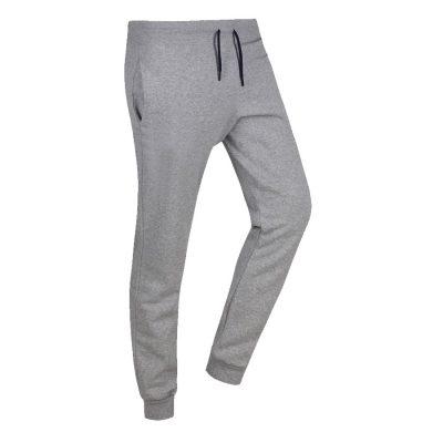 Wholesale Cheap Custom Plain Blank Fleece Grey Tracksuits for Men Sportsfore