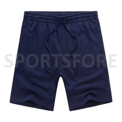 Wholesale Men Fashion Casual Summer Running Beach Zip Pockets Cotton Shorts Sportsfore