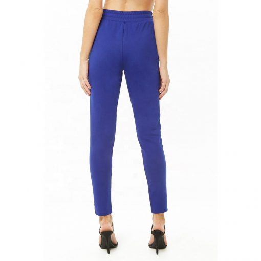 Women Contrast Striped Track Pants Sportsfore