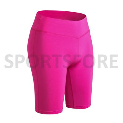 Women High Waisted Yoga Gym Cycling Running Fitness Shorts Sportsfore