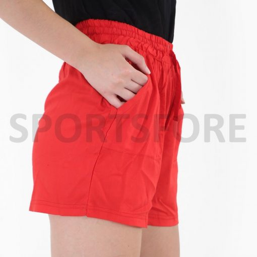 Women Summer Casual Beach Fitness Gym Workout Streetwear Cotton Shorts With Pockets Sportsfore