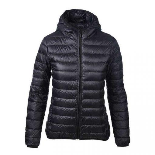 Sportsfore Women's Travel-Lite Down Hooded Jacket Puffer Jacket