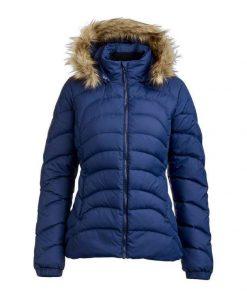 Women's Hooded Regular Fit Long Sleeve Down Jacket